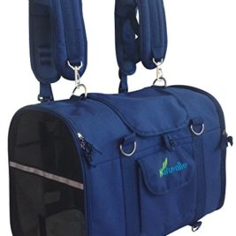 Blue Natuvalle 6-in-1 Pet Carrier Backpack