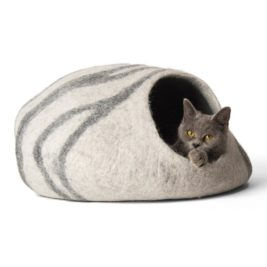 TwinCritters Wool Cat Cave