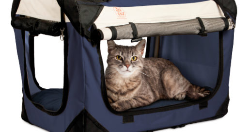 "PetLuv ""Happy Cat"" Premium Cat Carrier"